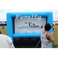 China Funny Shooting Inflatable Sport Games Safe Archery Targets Game 3L*1.6Hm Size on sale