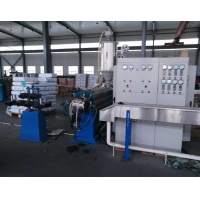 Buy cheap SJ90/25 10mm Flat PVC Cable Extrusion Line product