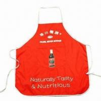 Buy cheap Promotional Apron, Customized Colors are Accepted product