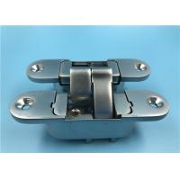 China Zinc Alloy Adjustable 3D 180 Degree Concealed Hinge Right Open 30x110 mm on sale