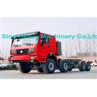 Buy quality Green 336HP 371HP 60 Ton Semi Trailer Truck with 8x8 Wheel Drive , EURO II Standard , Off Road Model at wholesale prices