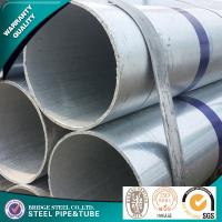Buy cheap ASTM A53 Round Galvanized Mild Steel Tube SS400 STK400 STK500 Large Diameter product