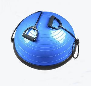 Buy cheap Blue Fitness Gym Yoga Pilates Training Ball Half Balance Ball With Pump product