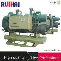 Energy Saving Water Screw Chiller with Shell and Tube Condenser