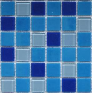 China Swimming Pool Tile Blue,Glass Tile,Crystal Mosaic, on sale