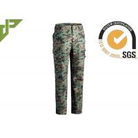 Buy cheap Multicam Military Grade Cargo Pants / Camouflage Woodland Tactical Pants For Hunting product