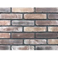 Buy cheap Antique Thin Brick Veneer Through Molded / Sintered With Different Colors Mixed product