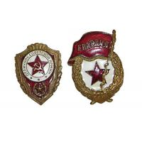 Buy cheap Light Weight Custom Metal Pin Badges Injected Or Debossed Logos Long Service from wholesalers
