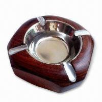 Buy cheap Ashtray, Made of Wood, Customized Designs are Acceptable product