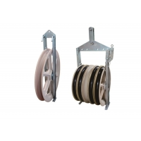 Buy cheap Bundled Wire Conductor Stringing Cable Pulley Block from wholesalers