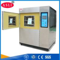 Two Rooms High - Low Temperature Impact Equipment / Thermal Shock Test Chamber for sale