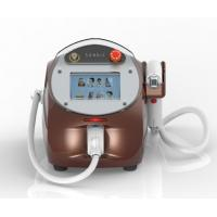 Buy quality Bikini line, body hair 808nm Diode Laser Hair Removal Machine with water cooling system at wholesale prices
