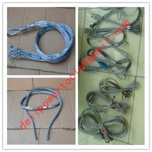 Buy cheap Non-conductive cable sock,Fiber optic cable sock,Pulling grip,Cable Pulling Sock product