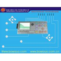 Buy cheap Industrial Equipment Panel Membrane Switch Backlit Keyboard 35V / 1W product