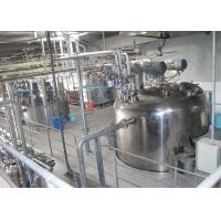 Stainless Steel Liquid Detergent Production Line With Automatic Filling Machine