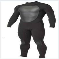 neoprene black men's diving suit