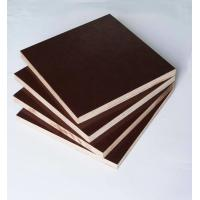 Film Faced Poplar Plywood For Cabinets , Decorative Plywood Sheets Anti Wear