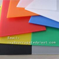 Buy cheap 4mm Corrugated plastic sheet 4x8/ Coroplast with low price/Trade Assurance Color Clear Roofing Corrugated Plastic Sheet from wholesalers