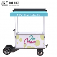 Buy cheap Disc Brake Ice Cream Bicycle Cart 18KM/H Ice Cream Vending Tricycle product