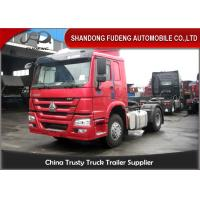 Buy cheap 4 X 2 Drive Type Sinotruk Tractor Head Trucks Prime Mover 371 HP product