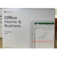 Buy cheap 64bits Microsoft Office 2019 Home And Business Online Activate Retail Package product