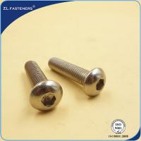 Buy cheap Stainless Steel 304 316 Full Thread Socket Button Head Cap Screws ISO 7380 product