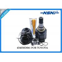 Buy cheap Toyota Auto Cv Joint 434030D061 Universal Dust Proof For Inner Position product
