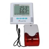 Buy cheap Sound Light Alarm  High Accuracy Temperature Humidity Data Logger HUATO S500-EX product