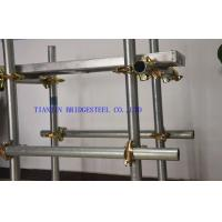 Buy cheap BS1387 Hot Dipped Galvanized Steel Scaffold Tube, High Corrosion Resistant product