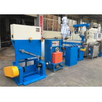 Buy cheap Industrial PVC Cable Extruder Machine With Double Axis Pay Off Straightening Device product
