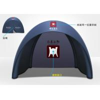 Buy quality 4 Meters Rip-stop Dacron Polyester TPU Outdoor Trade show / Advertising Inflatable Tent at wholesale prices