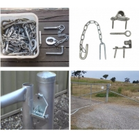 1170mm(H) X 3000mm (W) Farm Gate For Sale HDG 42 Microns
