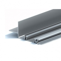 Buy cheap 2.0mm Machined Aluminium Track Profiles For Automobile Sunroof Rail product