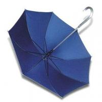 Buy cheap Straight Umbrella with Aluminum Crook Handle and Shaft product