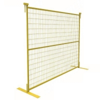 Buy cheap Powder Coated 6ft X 10ft Removable Yard Fence product