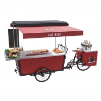 Buy cheap 3 Wheel Mobile Bar Beer Reserve Trike Barbecue Vending Cart product