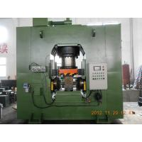 Buy cheap High Accuracy 63 Ton Hydraulic Extrusion Press For Fishing Reel PLC Control product