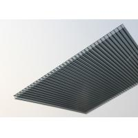 Buy cheap Waterproof Polycarbonate Roofing Sheets Customized Size High Mechanical Strength product