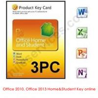 Buy quality Microsoft Office Product Key Codes For Office 2013 Home and Student at wholesale prices