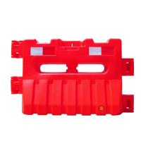 Buy cheap HDPE Material 900mm Height Water Filled Jersey Barriers Red White Color product