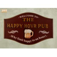Buy cheap Resin Beer Wall Decor Antique Wooden Wall Signs Decorative Wall Plaque Signs Pub Sign product