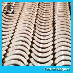 Buy cheap Custom Industrial Ceramic Ferrite Magnets Arc Shaped Y25 Y30 Y30BH Y35 Grade product
