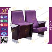 Buy cheap Safe Foldable Auditorium Chairs / College Lecture Hall Furniture from wholesalers