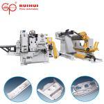 Buy cheap RUIHUI Steel Strip Heavy Duty Decoiler And Straightener Feeder For Press Machine product