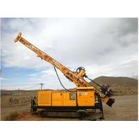 Buy cheap RC300 Full Hydraulic Top Drive Crawler Core Drill Rig Borehole Depth 300 M product