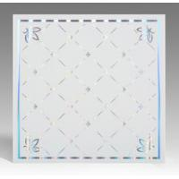 Buy cheap Light Weight Fireproof PVC Ceiling Boards , Decorative Plastic Ceiling Tiles product