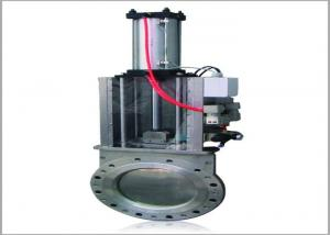 Buy cheap Food Industry Wafer Type SS316 Pneumatic Slide Valve product