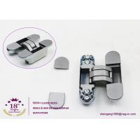 Buy cheap 180 degree zinc alloy 3D adjustable concealed gate hinges heavy duty hinges for heavy doors product