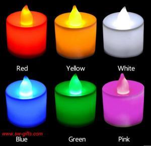 Polypropylene Plastic Candle Shape LED Fliker Flameless Candles Light For Wedding Party