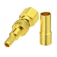 Buy cheap High Performance Straight Crimp Connector / Smc Rf Connectors For RG316 RG174 product